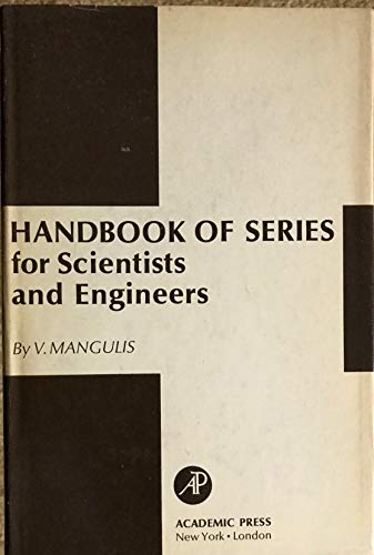 9780124688506: Handbook of Series for Scientists and Engineers