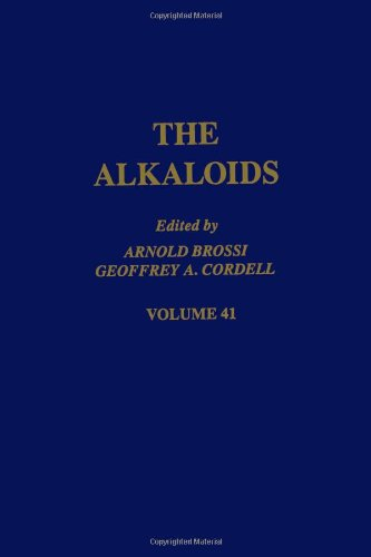 9780124695412: The Alkaloids: Chemistry and Pharmacology, Vol. 41
