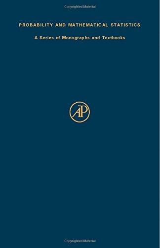 9780124711501: Statistics of Directional Data (Probability & Mathematical Statistics Monograph)
