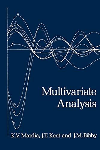 9780124712522: Multivariate Analysis (Probability and Mathematical Statistics)