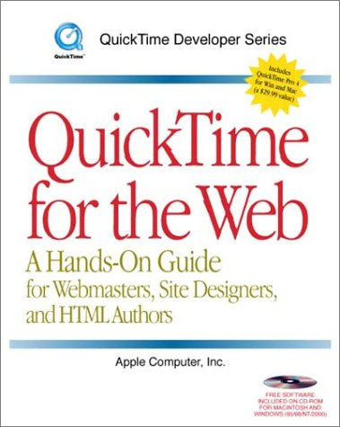 9780124712553: QuickTime for Web and CDROM (QuickTime Developer Series)