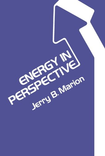 9780124722750: Energy in Perspective