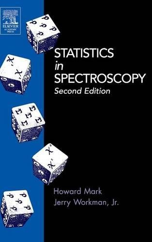 9780124725317: Statistics in Spectroscopy, Second Edition
