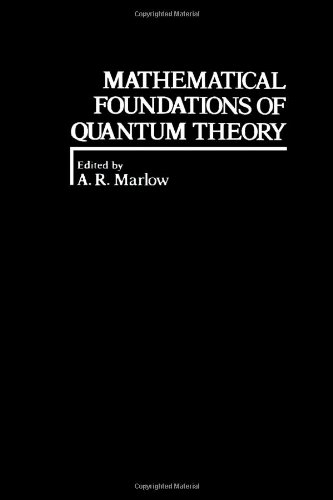 9780124732506: Mathematical foundations of quantum theory