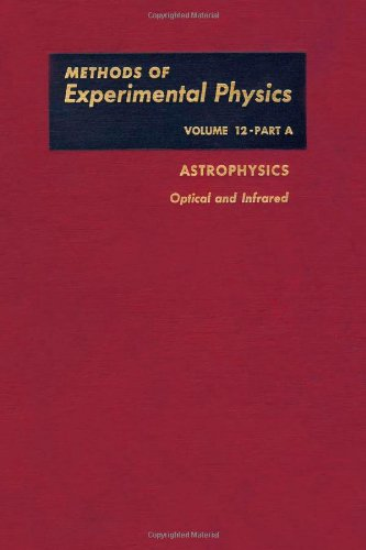 9780124759121: Astrophysics: Optical and Infrared (Methods of Experimental Physics, Vol. 12, Part A)