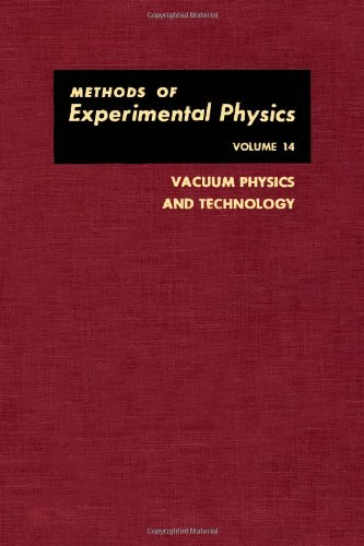 9780124759145: Vacuum Physics and Technology (Methods of Experimental Physics)