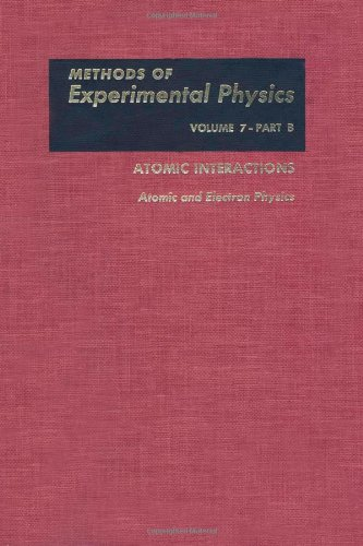 9780124759473: Atomic and Electron Physics, Volume 7B (Methods in Experimental Physics)