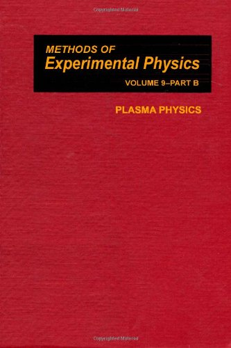 9780124759497: Plasma Physics: Part B (Methods of Experimental Physics)