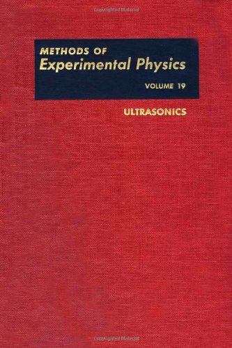 9780124759619: Ultrasonics (Methods in Experimental Physics, Vol. 19)