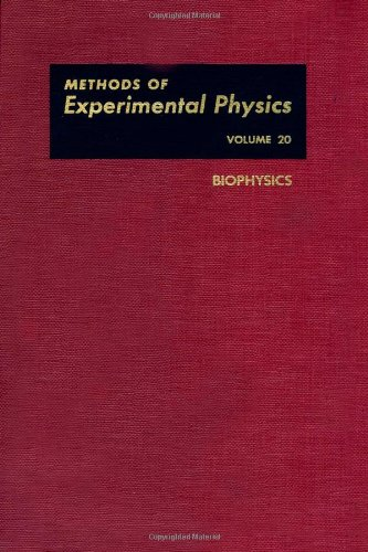 9780124759626: Biophysics: 20 (Methods of Experimental Physics)