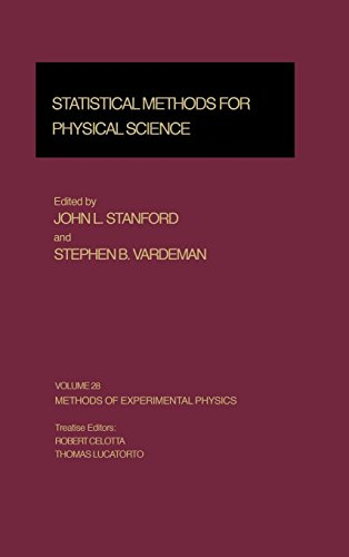 9780124759732: Statistical Methods for Physical Science (Methods of Experimental Physics)