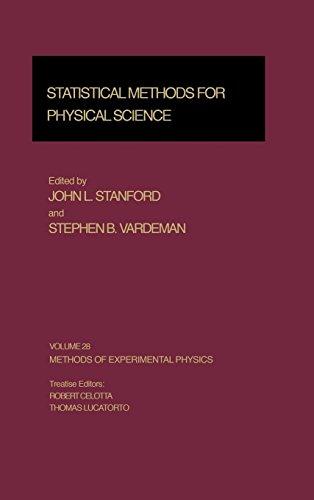 Statistical Methods for Physical Science (Methods of: Stanford, John L.