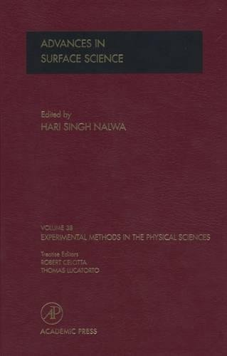 9780124759855: Advances in Surface Science, Volume 38 (Experimental Methods in the Physical Sciences)