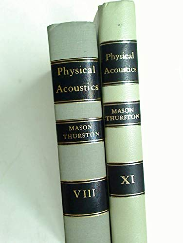 9780124779082: Physical Acoustics. Principles and Methods. Volume VIII (v. 8)