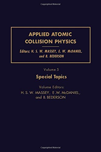 9780124788053: Applied Atomic Collision Physics: Special Topics v. 5 (Pure & Applied Physics)