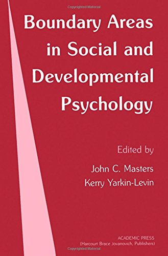 9780124792807: Boundary Areas in Social and Developmental Psychology