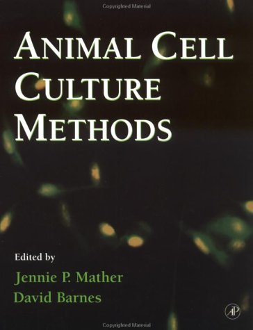 9780124800403: Animal Cell Culture Methods, Volume 57 (Methods in Cell Biology)