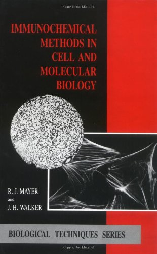 Immunochemical Methods in Cell and Molecular Biology: R. J. Mayer,