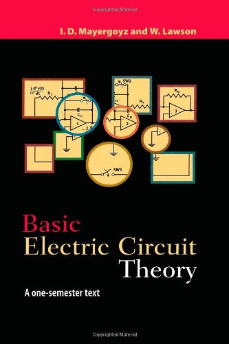 9780124808652: Basic Electric Circuit Theory: A One-Semester Text