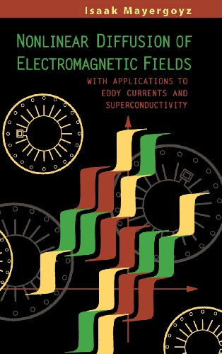 9780124808706: Nonlinear Diffusion of Electromagnetic Fields: With Applications to Eddy Currents and Superconductivity (Electromagnetism)