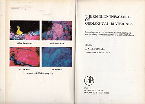 9780124833500: Thermoluminescence of Geological Materials