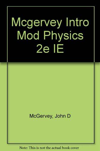 9780124835627: Mcgervey Intro Mod Physics 2e IE