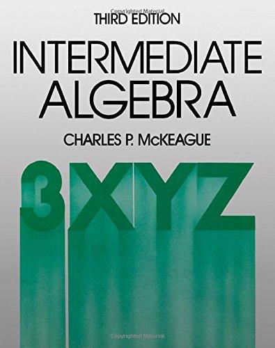 9780124847729: Intermediate Algebra