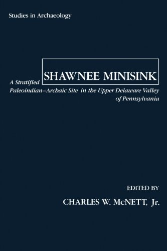 9780124859715: Shawnee Minisink: A Stratified Paleoindian-Archaic Site in the Upper Delaware Valley of Pennsylvania