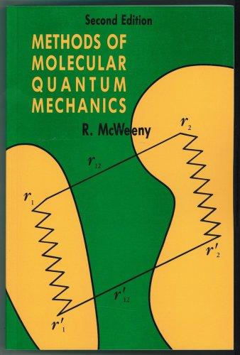 9780124865525: Methods of Molecular Quantum Mechanics