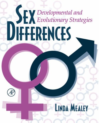 9780124874602: Sex Differences: Developmental and Evolutionary Strategies