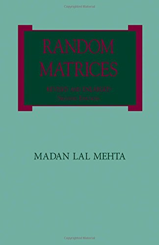 9780124880511: Random Matrices, Second Edition: Revised and Enlarged Second Edition (Pure and Applied Mathematics)
