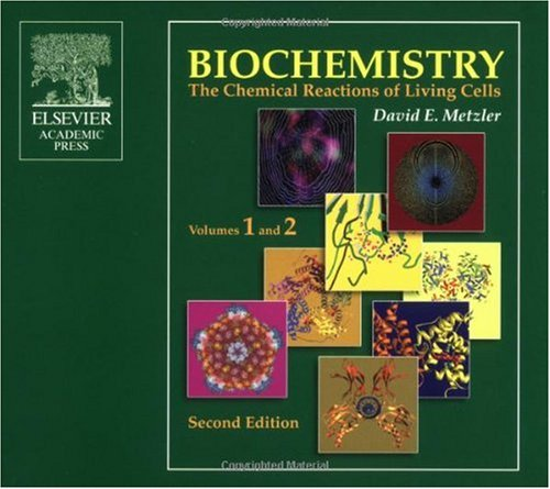 9780124925427: Biochemistry CD-ROM, Second Edition: The Chemical Reactions of Living Cells