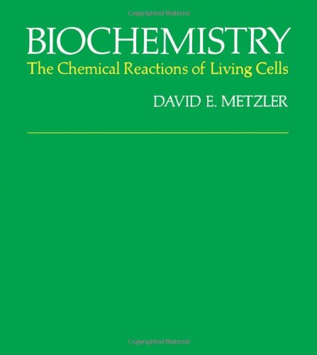 9780124925502: Biochemistry: Chemical Reactions of Living Cells