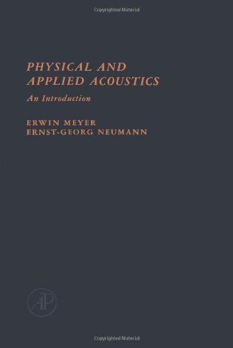 9780124931503: Physical and Applied Acoustics: An Introduction