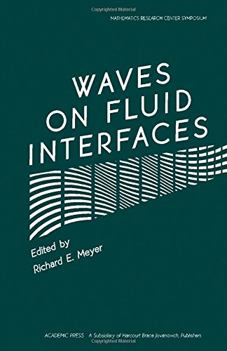 9780124932203: Meyer Waves on Fluid Interfaces (Publication no.50 of the Mathematics Research Center, the University of Wisconsin-Madison)