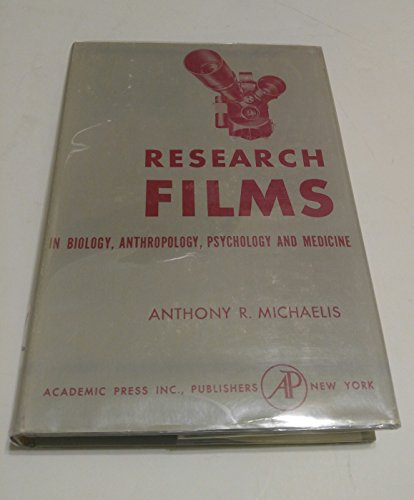 9780124933507: Research Films - In Biology, Anthropology, Psychology and Medicine