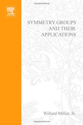 9780124974609: Symmetry groups and their applications, Volume 50 (Pure and Applied Mathematics)