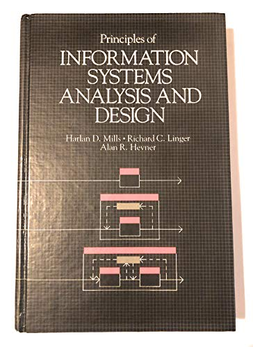 9780124975453: Principles of Information Systems: Analysis and Design