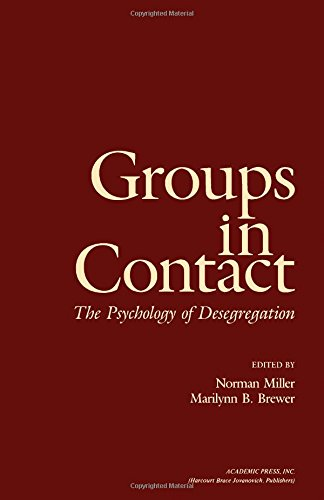 9780124977808: Groups in Contact: The Psychology of Desegregation