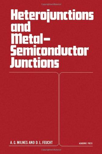9780124980501: Heterojunctions and Metal Semiconductor Junctions