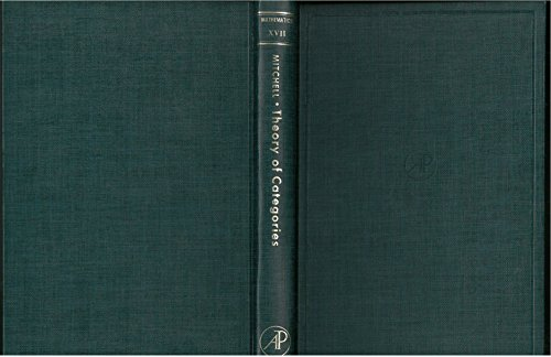 9780124992504: Theory of categories, Volume 17 (Pure and Applied Mathematics)