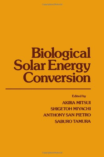 9780125006507: Biological Solar Energy Conversion