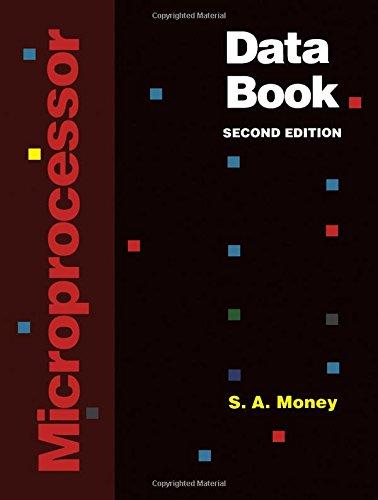 9780125044455: Microprocessor Data Book