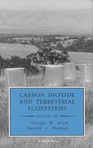 9780125052955: Carbon Dioxide and Terrestrial Ecosystems (Physiological Ecology)
