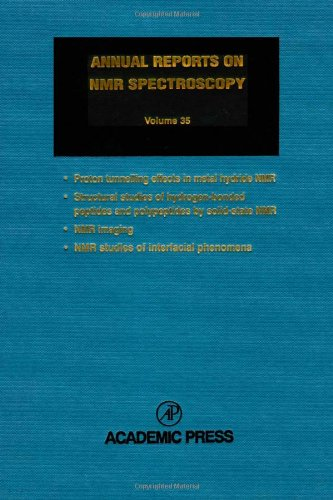 9780125053358: Annual Reports on NMR Spectroscopy, Vol. 35