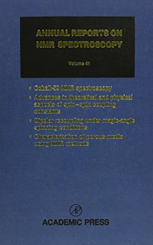 9780125053419: Annual Reports on NMR Spectroscopy, Vol. 41