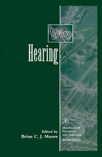9780125056267: Hearing (Handbook of Perception and Cognition)