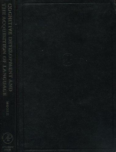 9780125058506: Cognitive Development and Acquisition of Language