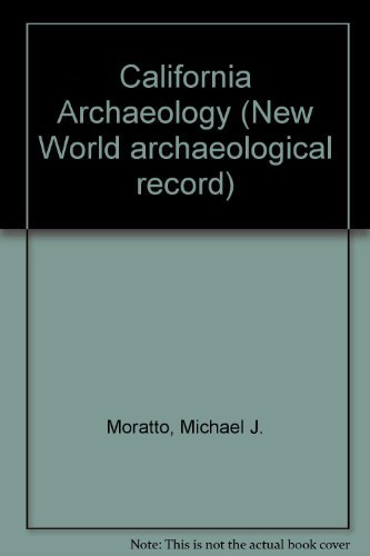 9780125061803: California Archaeology