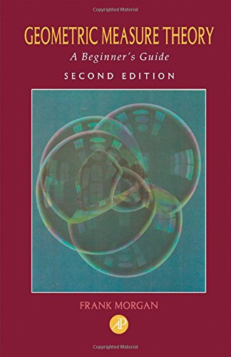 9780125068574: Geometric Measure Theory, Second Edition: A Beginner's Guide